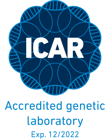 ICAR logo accredited genetic laboratory